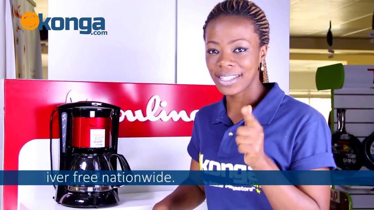 Moulinex Coffee Maker review by Konga.com - YouTube
