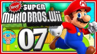 Ger 🔴 NEWER SUPER MARIO BROS. Wii • #07 (OnTopic wie ein Let's Play!) 🌟 Livestream #204
