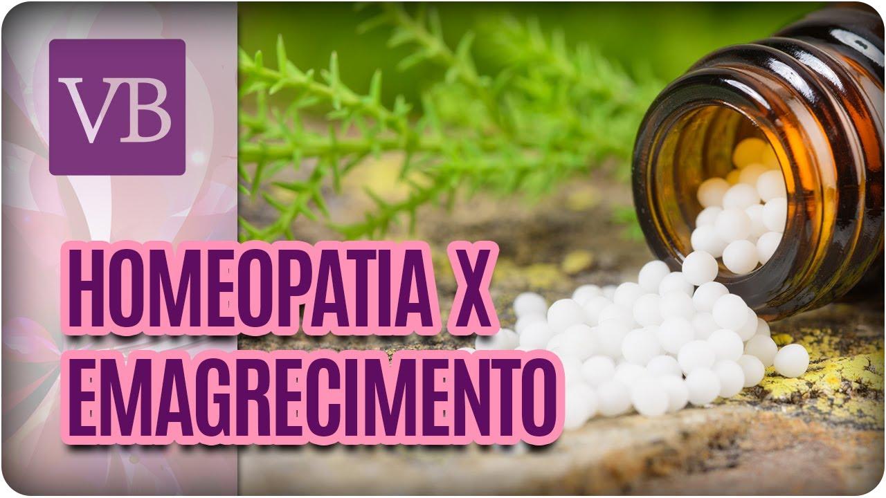 perder peso homeopatia