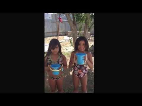 Kids ALS ice bucket challenge