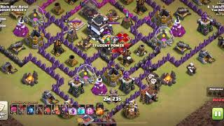 Clash of clans: another clean LavaLoon, Zeppelin attack!
