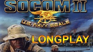 PS2 Longplay [013] - SOCOM II: U.S. Navy SEALs - All objectives Walkthrough | No commentary