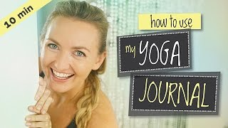 How To Use My Free Yoga Journal | Brett Larkin