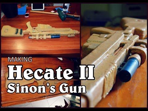 Props Corner Episode 6: Hecate II (Sinon's Gun )