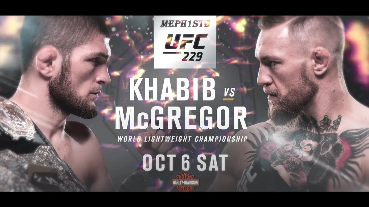 UFC 229 Conor McGregor vs Khabib Nurmagomedov  best moments  & song