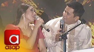 """ASAP: Sarah G. sings """"Pangarap Ko Ang Ibigin Ka"""" with Ogie Alcasid"""