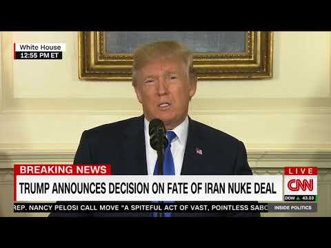 Trump lays out terrorism and crimes of 'fanatical regime' in Iran