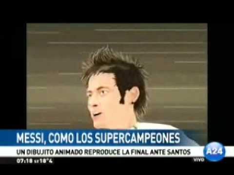 Messi es uno de los Supercampeones
