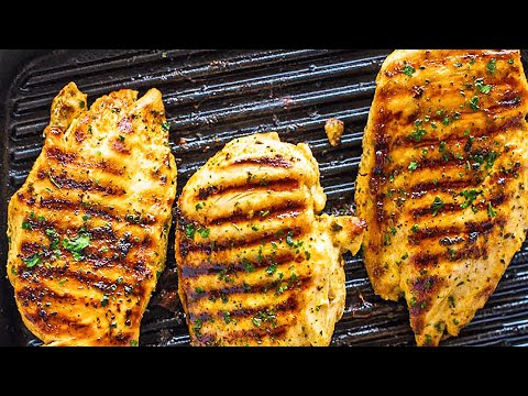 Grilled Boneless Chicken Breast Recipe - How To Cook Chicken Breast On The Grill For A Quick Dinner!