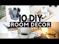 10 DIY Room Decor 2017! (Tumblr Inspired) Organization & Trendy Recycled Items!