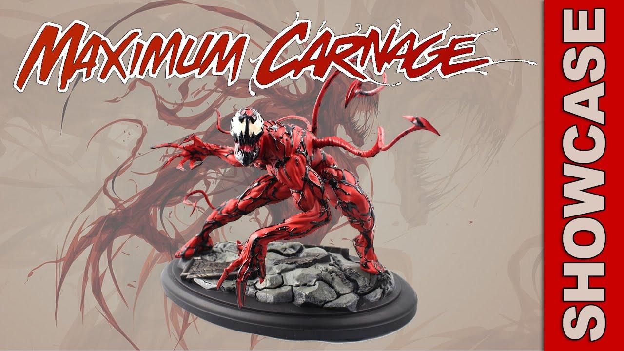 Kotobukiya Marvel Comics Maximum Carnage Fine Art Statue ...
