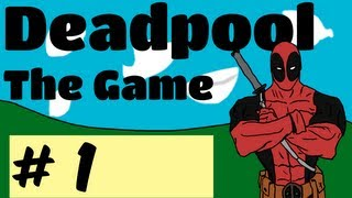 Deadpool Playthrough w/ Mischief Part 1 - Lets Look Around The Room