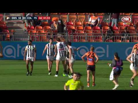 Outrageous boundary bender from Blair - AFL