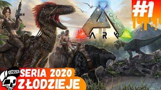Złodzieje Atakują Przy Oswajaniu - ARK Survival Evolved PL | Seria 2020 #1 - Rizzer