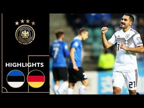 Gündogan Scores Twice From Distance | Estonia Vs. Germany 0-3 | Highlights | Euro Qualifiers