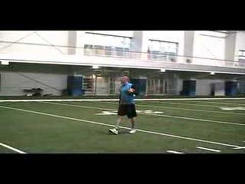 Jon Kitna throwing routes to Cody Wilson