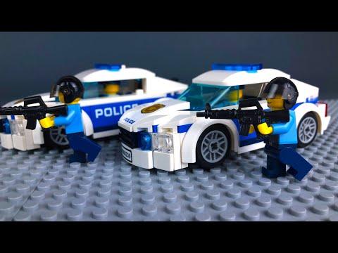 LEGO City Police Robbery Fail Mini Movies Compilation (2) | LEGO Animation Cartoons