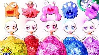 プリキュアアラモード おもちゃ ドレスと髪がとられた!キラキラ魔法で変身 たまご 衣装 人気動画 連続再生 たまごMammy