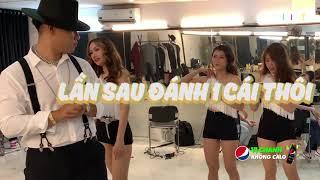 Chuyện Rap Việt: Thấy Karik chật vật tập nhảy, G.Ducky - Ricky Star đành gánh luôn team| RAP VIỆT