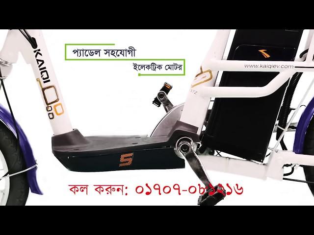 Eco-friendly Electric Bike (Hotline Number : +8801707081216)