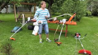 видео Как выбрать газонокосилку