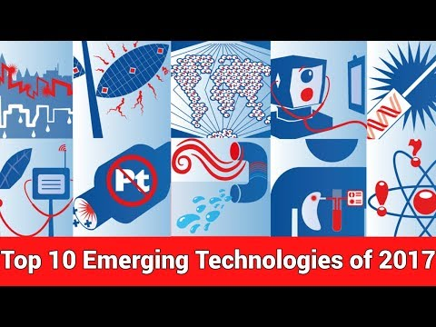 Top 10 Emerging Technologies of 2017