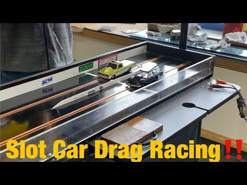 Slot Car Drag Racing‼️