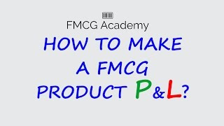 Basic FMCG Product P&L