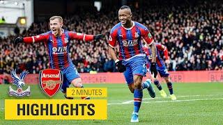 MATCH HIGHLIGHTS  Crystal Palace 1-1 Arsenal
