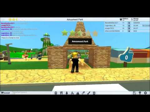 theme park tycoon 2 roblox how to get 5 stars