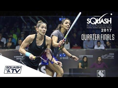 Squash: Hong Kong Open 2017 - Women's QF Roundup