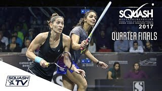 Squash: Hong Kong Open 2017 - Women's QF Roundup
