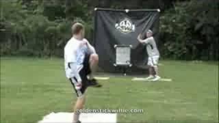 Golden Stick Wiffle Ball League Action 2008 GSWL.
