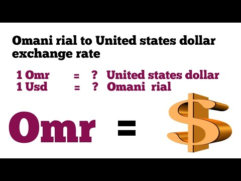 Omani Rial To United States Dollar Exchange Rate Today | Usd To Omr | Omr To Usd