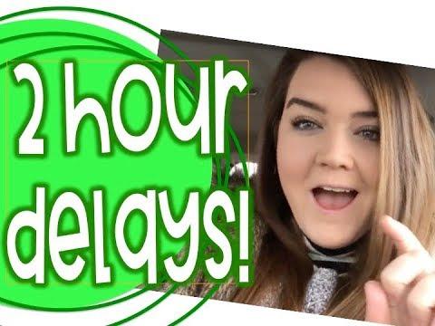 Two Hour Delays ALL WEEK!: Weekly Teacher Vlog 13