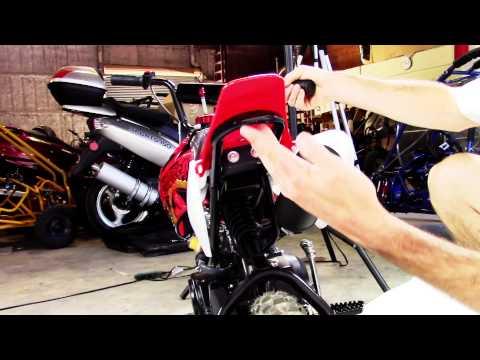coolster 70cc mini pro pit dirt bike qg 210 youtube. Black Bedroom Furniture Sets. Home Design Ideas