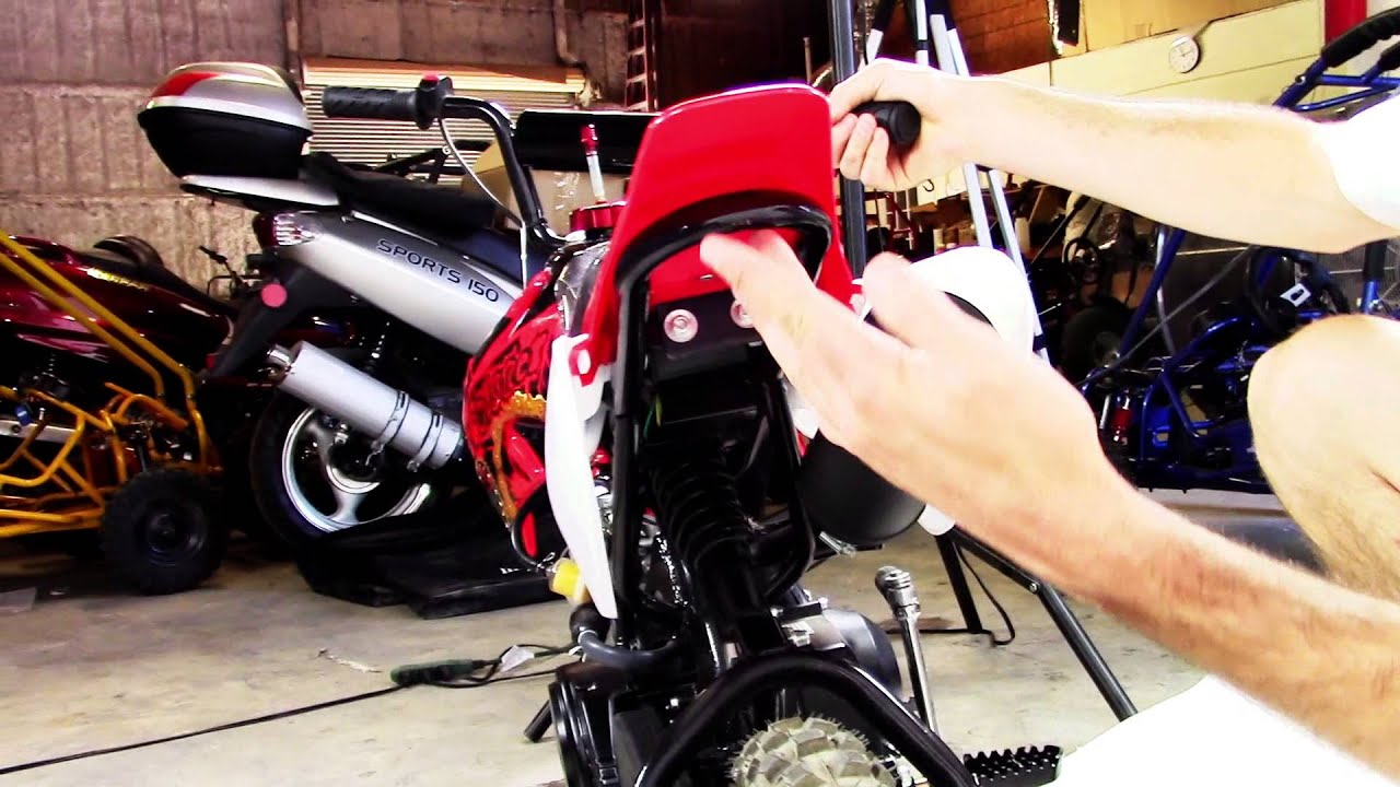Coolster 70cc Mini Pro Pit Dirt Bike Qg 210 Youtube