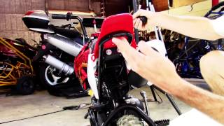 Coolster 70cc Mini-Pro Pit Dirt Bike | QG-210
