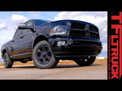 2015 Ram 2500 Cummins Highway MPG Review  YouTube