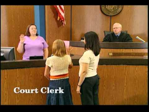 kids in court