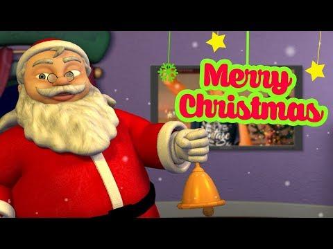 Christmas Song | Hindi Rhymes for Children | Jingle bells | Infobells