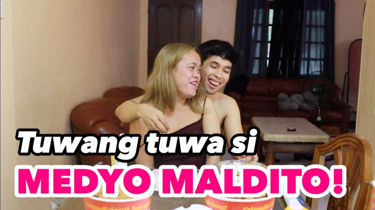 EATING CHALLENGE WITH A TWIST! + Q & A WITH MEDYO MALDITO!