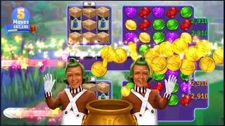 Wonka's World of Candy Level 142 - NO BOOSTERS + FULL STORY ???? | SKILLGAMING ✔️