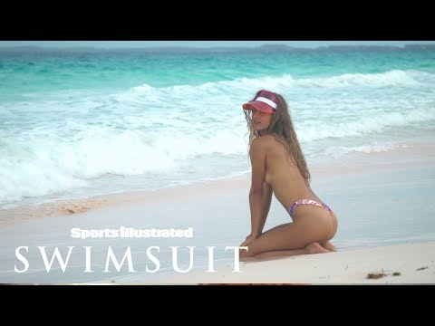 Chase Carter Goes Surfing in the Bahamas| CANDIDS | Sports Illustrated Swimsuit