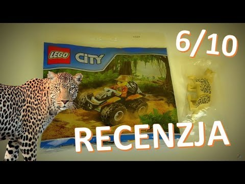 Lego City Dżungla Atv Recenzja Youtube