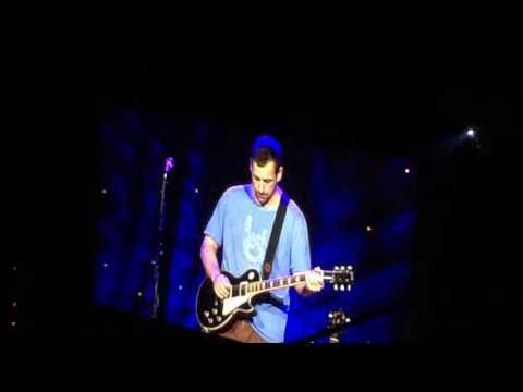 The Do-Over Tour at Mohegan Sun Adam Sandler singing #ChrisFarley