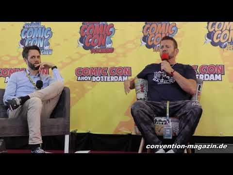 Complete Panel with Costas Mandylor (SAW), German Comic Con Berlin 2019