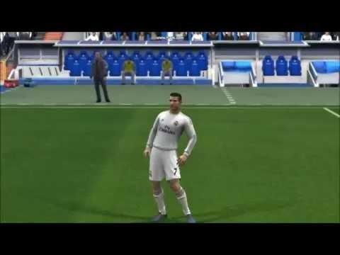 Роналдо финты и голы фифа 14
