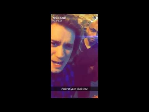 Boys Trip!! - Rafael Casal's Snapchat  [7/4/16]