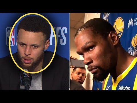 Steph Curry Tells Reporter If Durant Wants To Leave WE DONT NEED HIM! & Kevin Is FURIOUS
